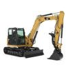 minikraan caterpillar 8 ton - verhuur detail - C Sinke BV